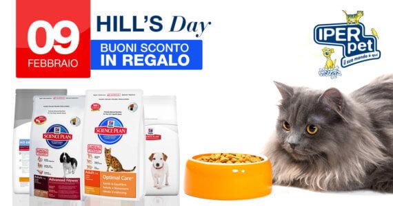 Il 9 Febbraio giornata promozionale Hill's presso Iper Pet il negozio per animali di Reggio Calabria
