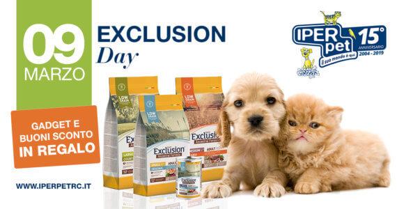 Sabato 9 Marzo Giornata Exclusion da Iper Pet negozio per animali reggio calabria