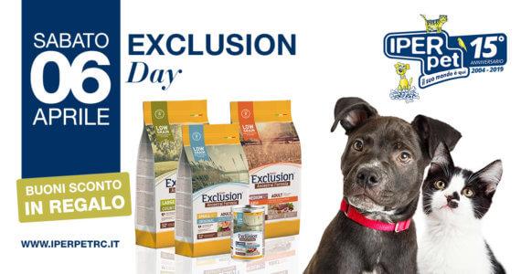 sabato 4 aprile giornata exclusion da iper pet