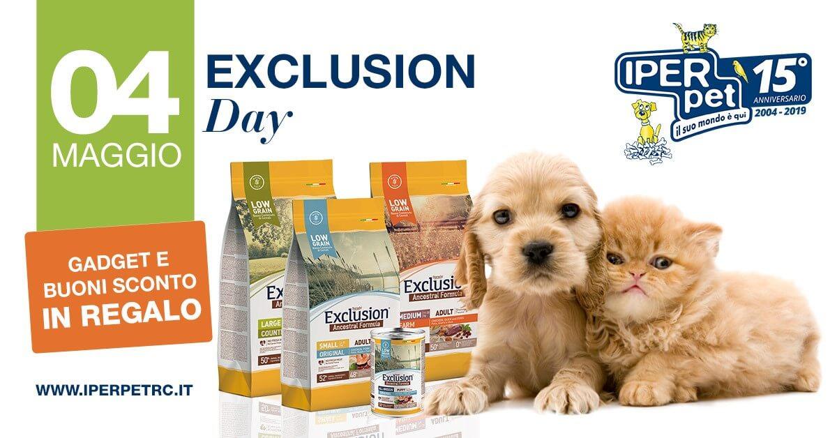 4 maggio exclusion day negozio per animali iper pert reggio calabria