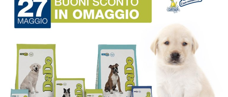giornata promozionale dado 27 maggio iperpet negozio animali reggio calabria
