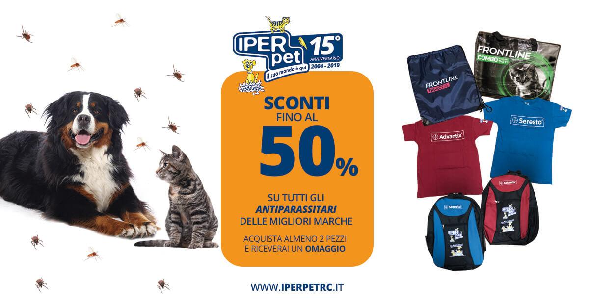 promozione antiparassitari iper pet negozio per animali reggio calabria