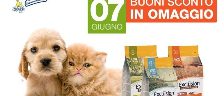Venerdì 7 Giugno Exclusion Day da Iper Pet Negozio per animali Reggio Calabria