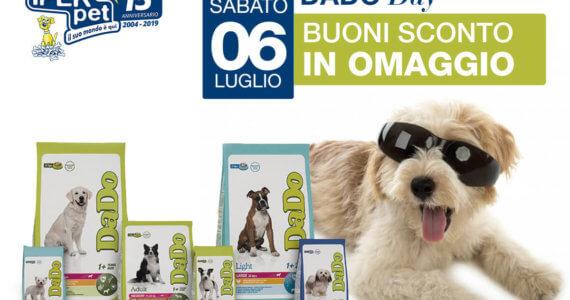 Sabato 9 Luglio Dado Day da Iper Pet Negozio per animali Reggio Calabria