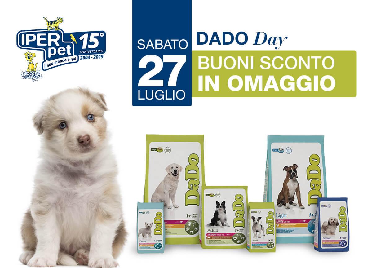 Sabato 27 Luglio Giornata Dado da Iper Pet negozio per animali reggio calabria