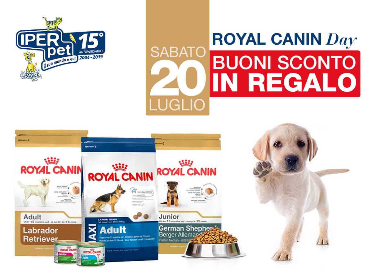 Sabato 20 Luglio Royal Canin Day da Iper Pet Negozio per animali Reggio Calabria