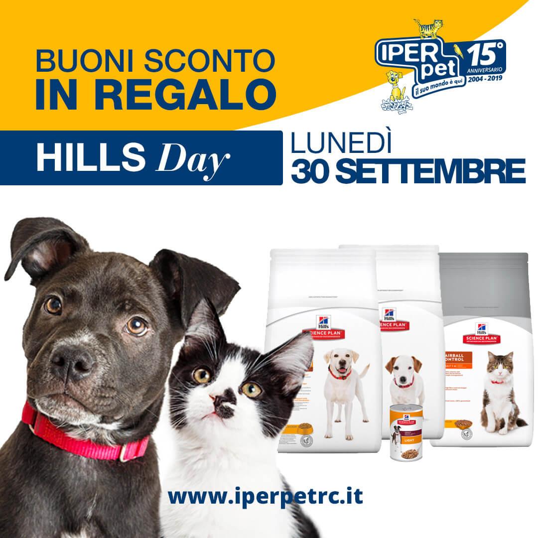 lunedì 30 settembre hill's day da iper pet negozio per animali reggio calabria