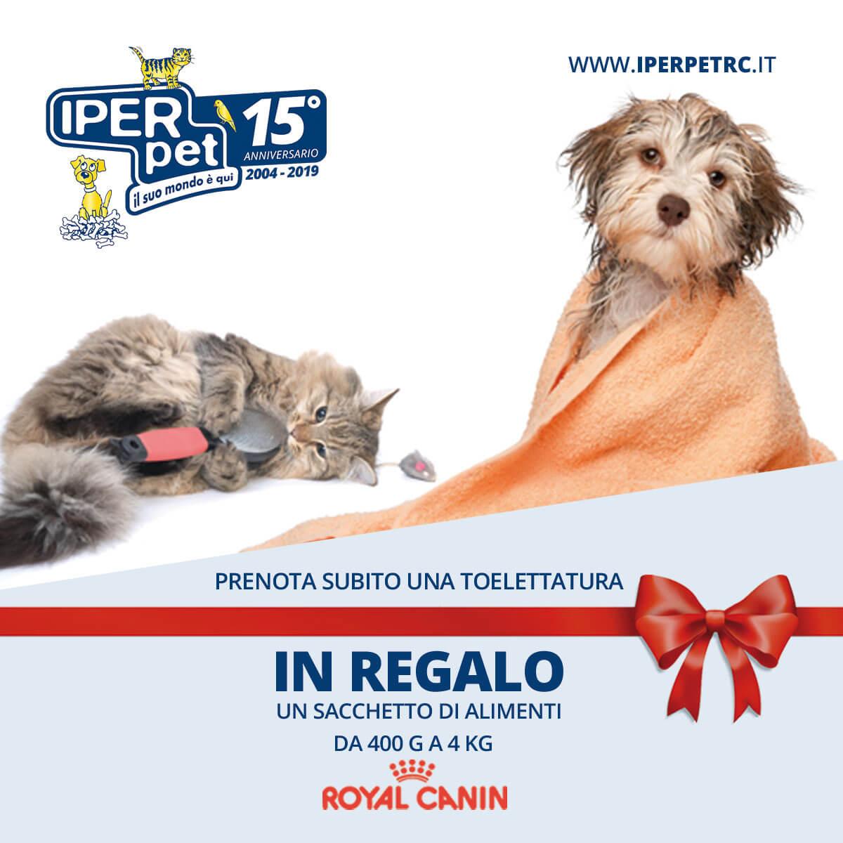 Royal Canin in regalo se prenoti una toelettatura