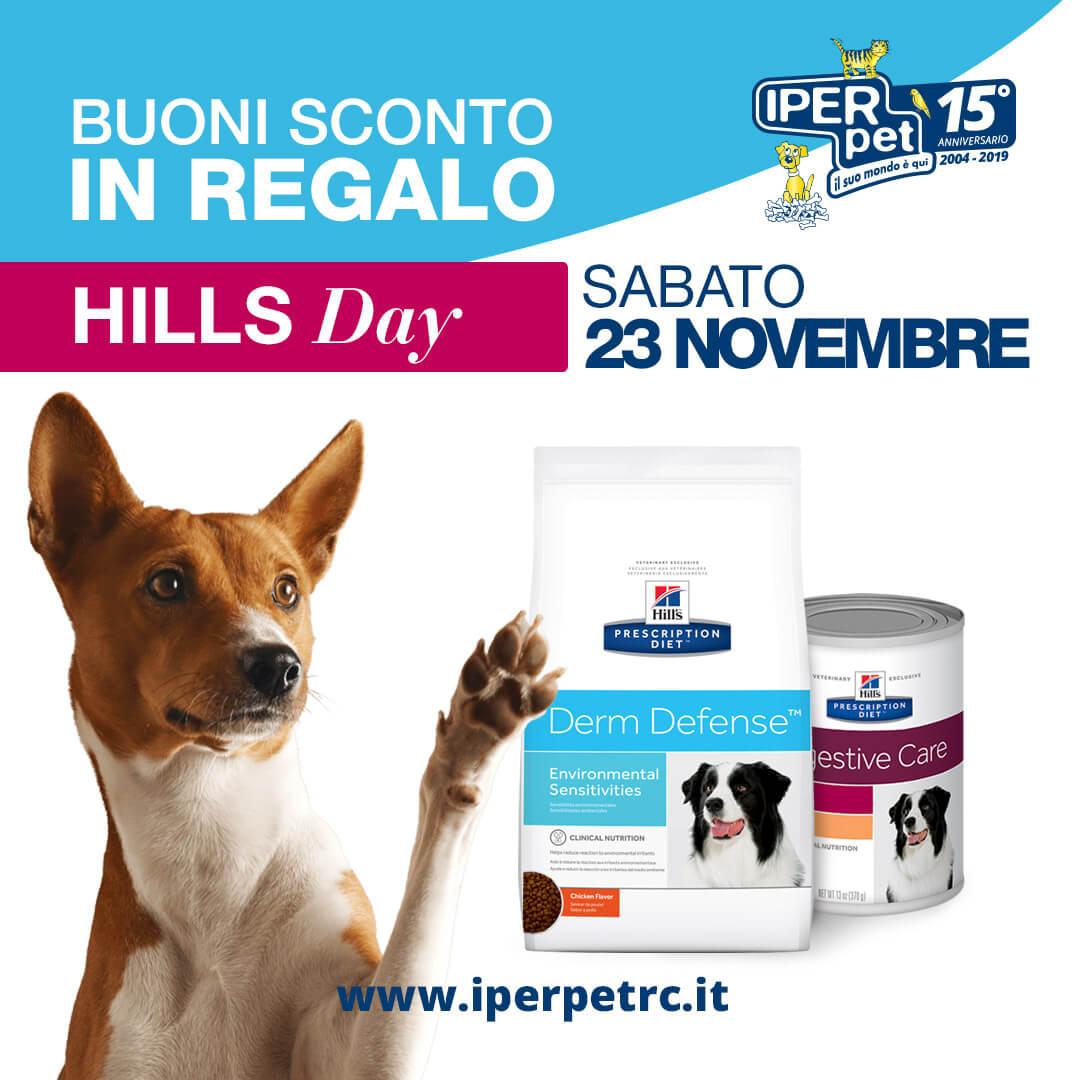 Sabato 23 Novembre Hill's Day presso Iper Pet Negozio per animali di Reggio Calabria