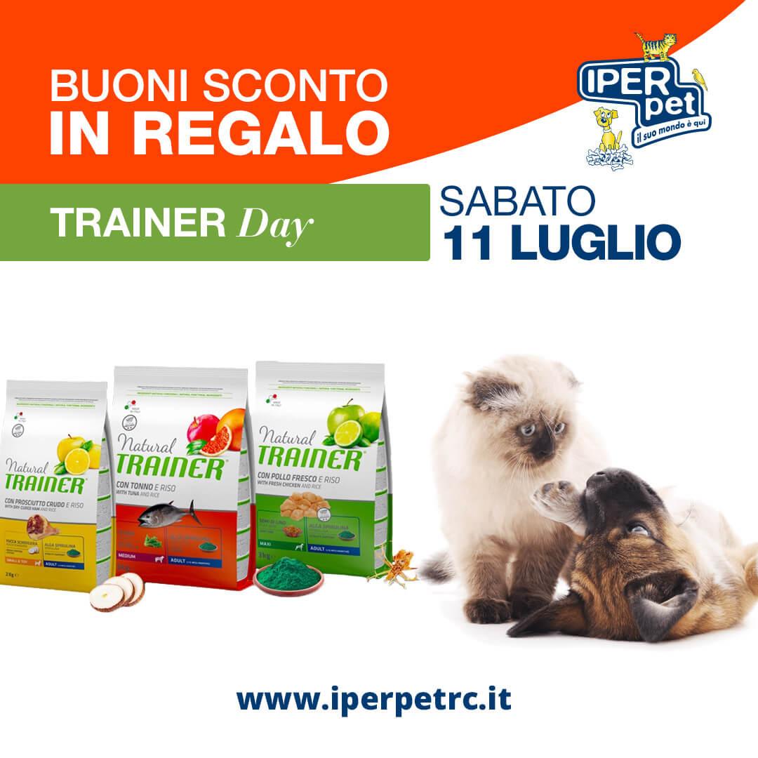 Sabato 11 Luglio trainer day da Iper Pet negozio per animali a Reggio Calabria