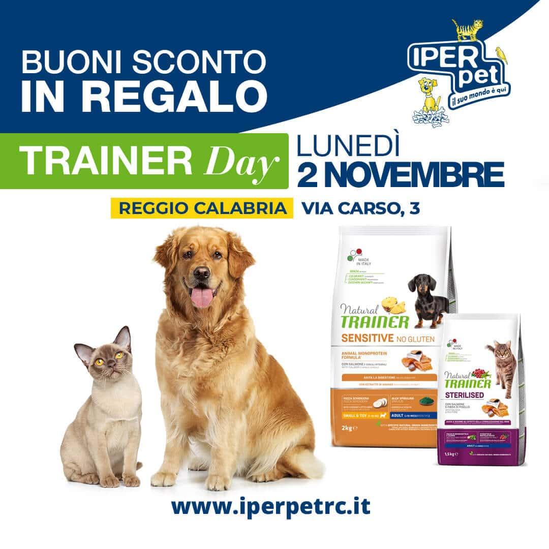 Lunedì 2 novembre Trainer Day a Reggio Calabria