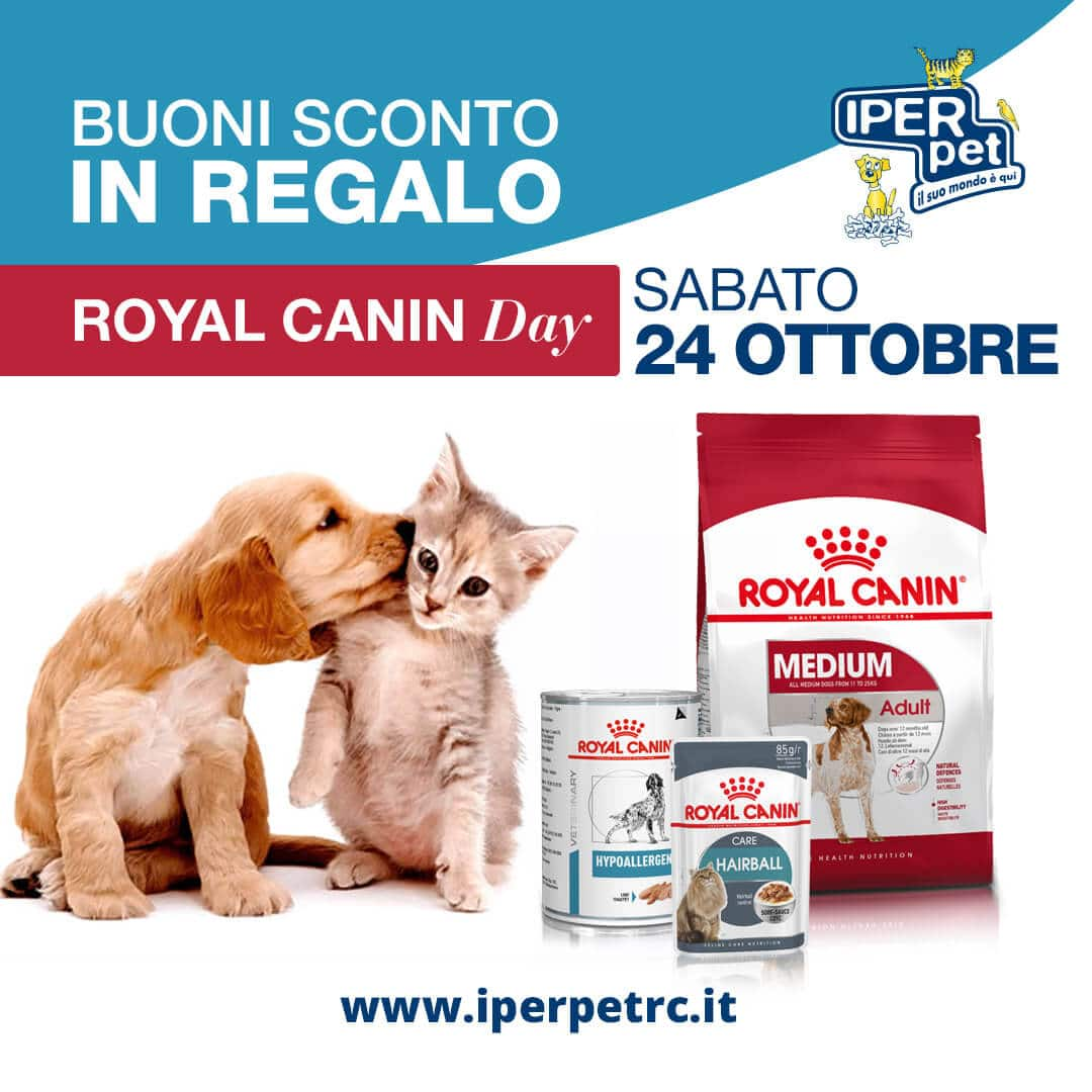 Sabato 24 Ottobre Royal Canin day a Reggio Calabria